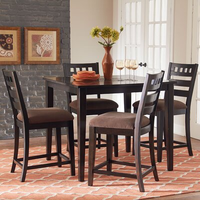 Sparkle 5 Piece Counter Height Dining Set by Standard Furniture