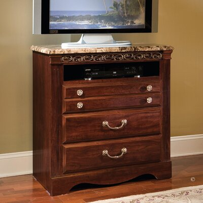 Triomphe 3 Drawer Media Chest by Standard Furniture