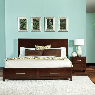 Metro storage platform bed wayfair for Standard furniture metro bedroom collection
