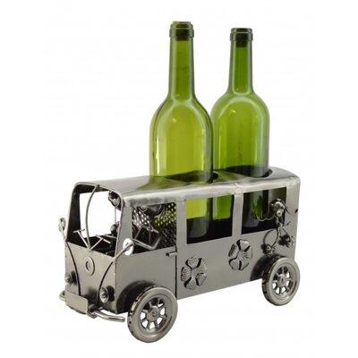 Mini Van 2 Bottle Tabletop Wine Rack by Three Star