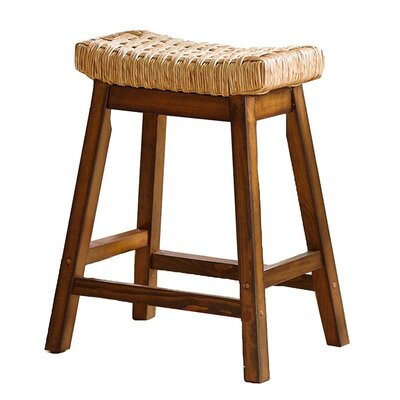 Rush Stool by Plow & Hearth