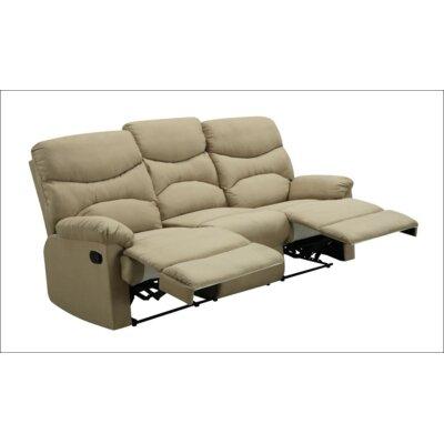 Glory Furniture JLDQ1063 Double Reclining Sofa