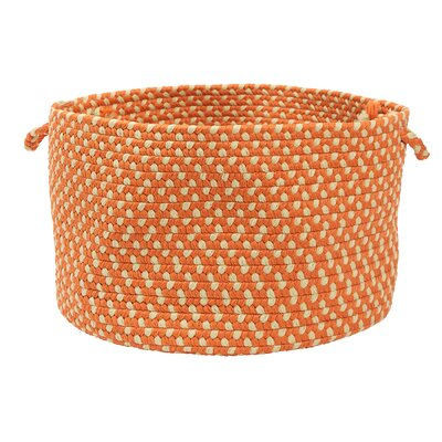 Montego Tangerine Utility Basket by Colonial Mills