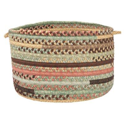 Olivera Warm Chestnut Utility Basket by Colonial Mills
