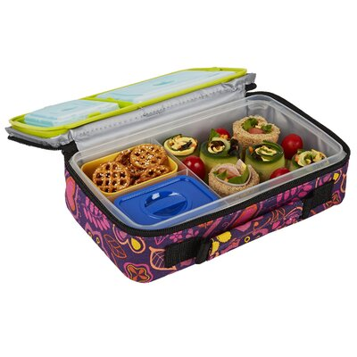 Fit fresh bento 6 piece lunch box set reviews wayfair for Decor 6 piece lunchbox