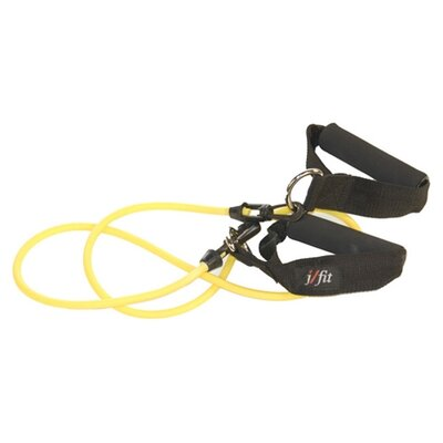 J Fit Light Resistance Tubing with Handles