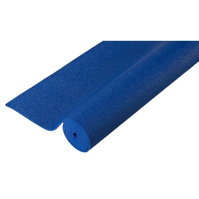 Extra Thick Pilates Yoga Mat in Blue by J Fit