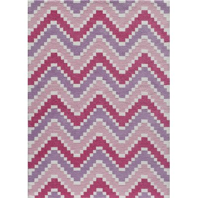 Heavenly Hand-Tufted Pink Area Rug by Momeni