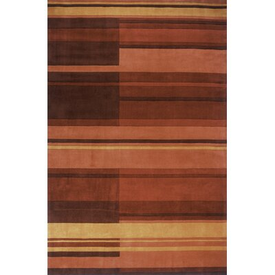 Momeni New Wave Red Rug