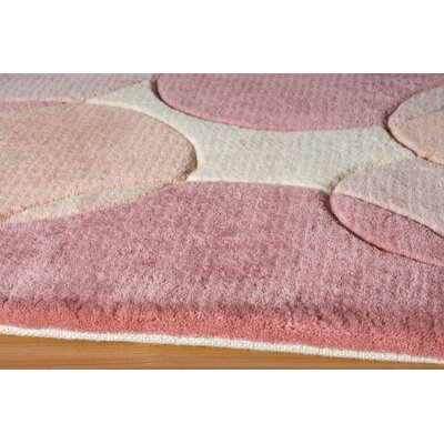 Momeni New Wave Pink Rug