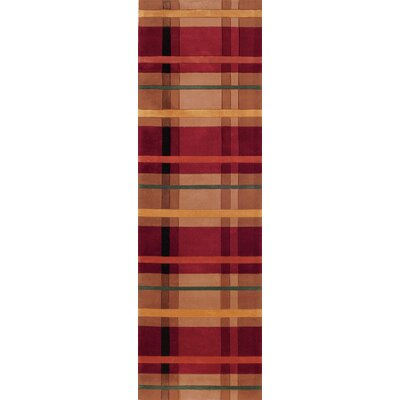 New Wave Red Multi Rug by Momeni