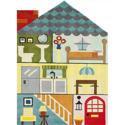 Lil Mo Whimsy Tufted Kids Rug by Momeni