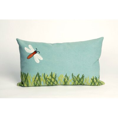 Visions II Dragonfly Lumbar Pillow by Trans Ocean