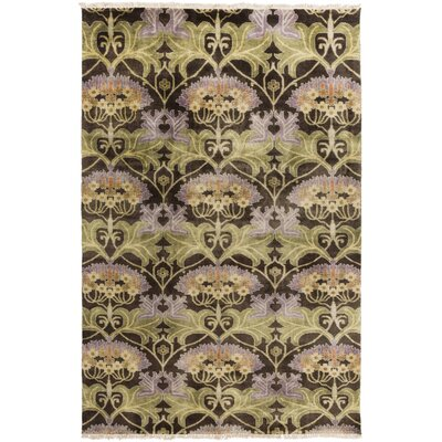 Uncharted Rust/Mauve Area Rug by Surya