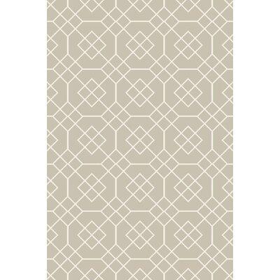 Seabrook Sea Foam/Ivory Geometric Rug by Surya