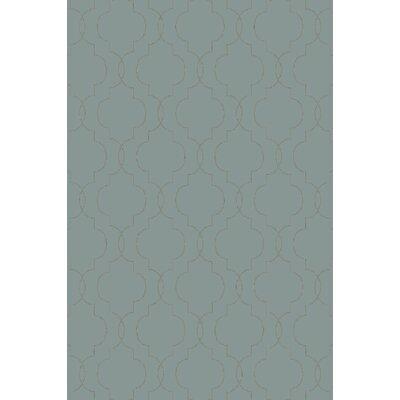 Seabrook Teal/Olive Geometric Rug by Surya