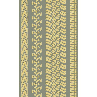Pandemonium Slate/Yellow Indoor/Outdoor Area Rug by Surya