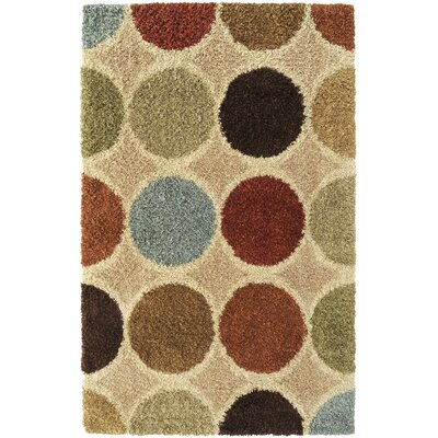 Concepts Circle Beige Multi Rug by Surya