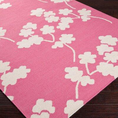 Surya Fallon Flamingo Pink Area Rug