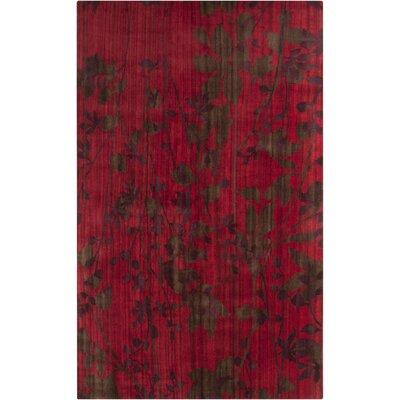 Surya Brocade Venetian Red Area Rug