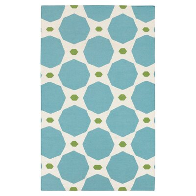 Surya Frontier Dark Robin S Egg Blue Parchment Area Rug
