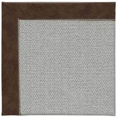 Inspirit Silver Machine Tufted Burgundy/Gray Area Rug by Capel