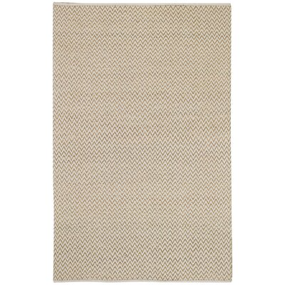 Sahara Beige Beige Chevron Area Rug by Capel