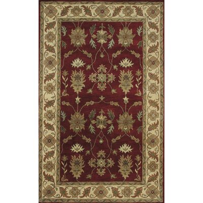 Dynamic Rugs Charisma Parson Red / Ivory Area Rug