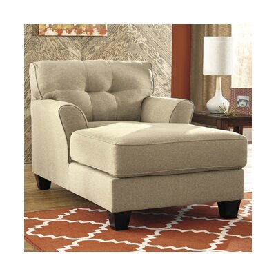 Benchcraft laryn chaise lounge reviews wayfair for Benchcraft chaise lounge