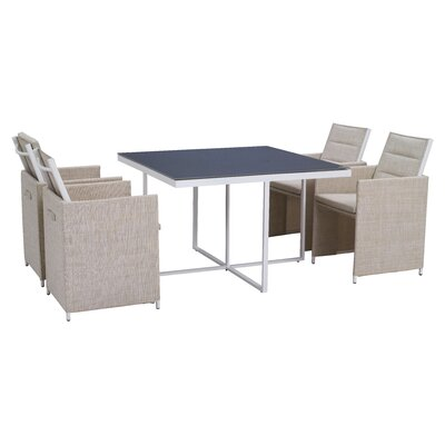 Sea Bass 5 Piece Dining Set by dCOR design