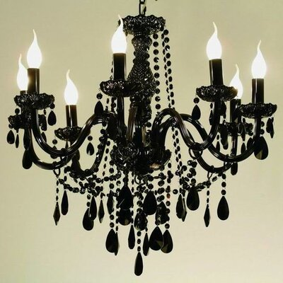 dCOR design Gothic 8 Light Chandelier