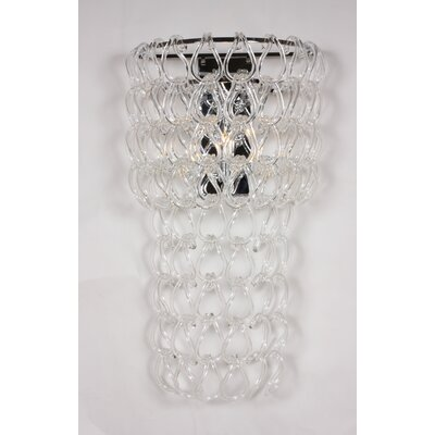 Linnea 3 Light Crystal Chandelier by dCOR design