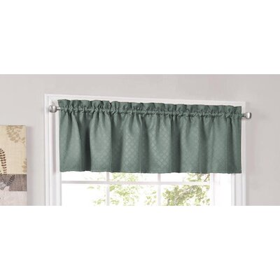 Facets Blackout Insulated Kitchen Curtain Valance Product Photo