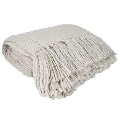 Elegant Knit Solid Throw by Sweet Home Collection