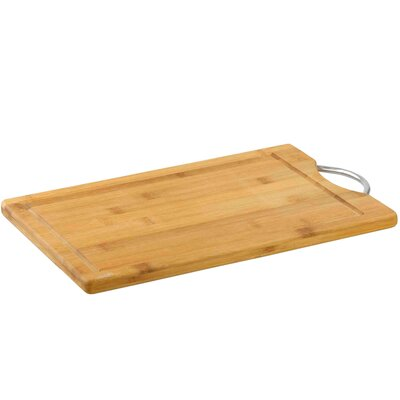 Bamboo Cutting Board with Juice Well by Sweet Home Collection