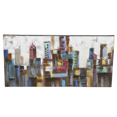 Cityscape Canvas Art by Mercury Row
