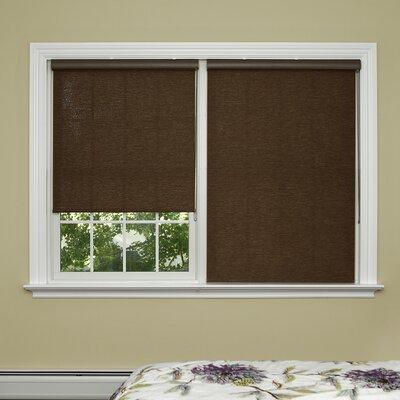 Premium Wood Look Window Roller Shade Product Photo