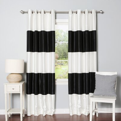 Striped Curtain Panel (Set of 2) Product Photo