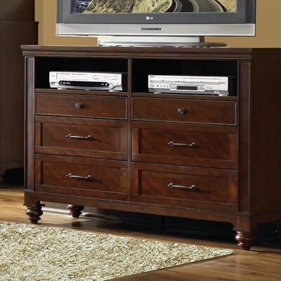 Auburn 6 Drawer Double Dresser by Carolina Home Collection