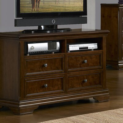Rockland 4 Drawer Double Dresser by Carolina Home Collection