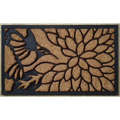 Brush Humming Bird Doormat by A1 Home Collections LLC