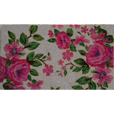 Floral Doormat by A1 Home Collections LLC