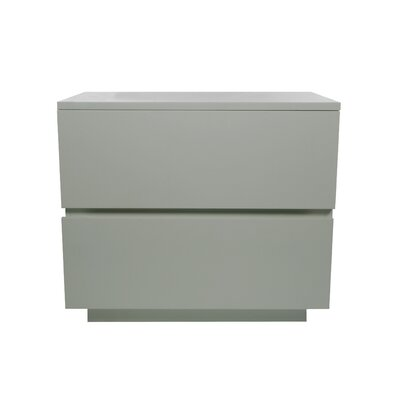 Equis 2 Drawer Nightstand by Indo Puri