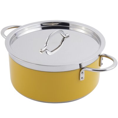 Classic Country French Soup Pot with Lid by Bon Chef