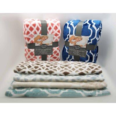 Stella Ultra Plush Velvet Blanket by Home Fashions