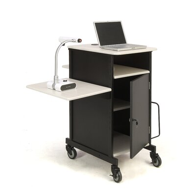 Oklahoma Sound Jumbo Plus Presentation Cart Full Podium