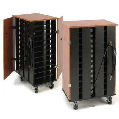 Oklahoma Sound 24-Compartment Laptop Charging Storage Cart