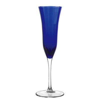Meridian Flute Glass by Qualia Glass