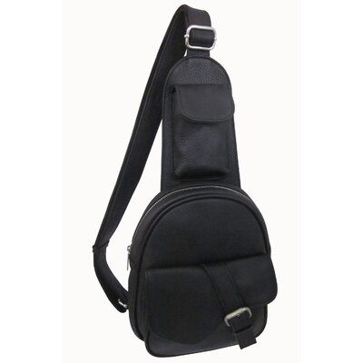 Edwin Mini One Strap Messenger Bag by AmeriLeather