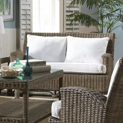 Exuma Loveseat with Cushion by Panama Jack Sunroom